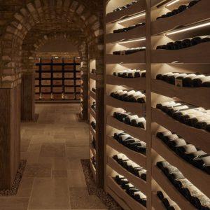 Burgundy Stone Floor