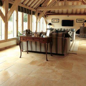 Cotswold stone flooring