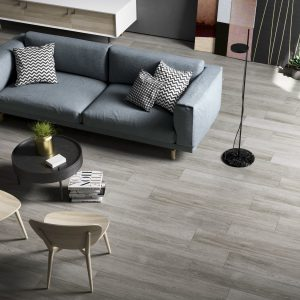 Kuni Grey Wood Effect Porcelain Tiles 1200 x 200