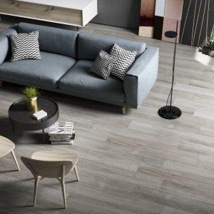 Kuni Grey Wood Effect Porcelain Tiles 1200 x 200
