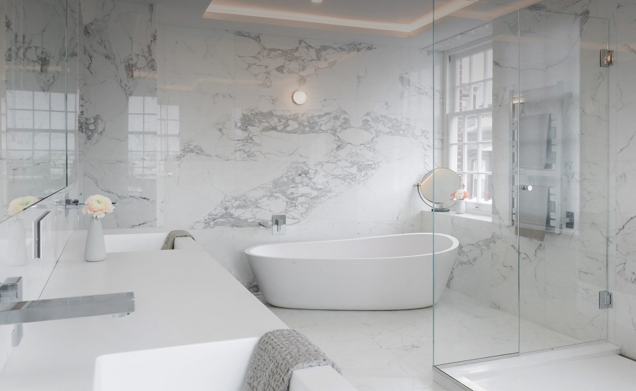 Italian Marble London Supplied And Installed Tiles And